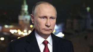 Putin acusó a Kiev de aumentar el conflicto para acercarse a Trump
