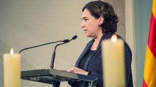 La alcaldesa de Barcelona facilitará el referendo catalán