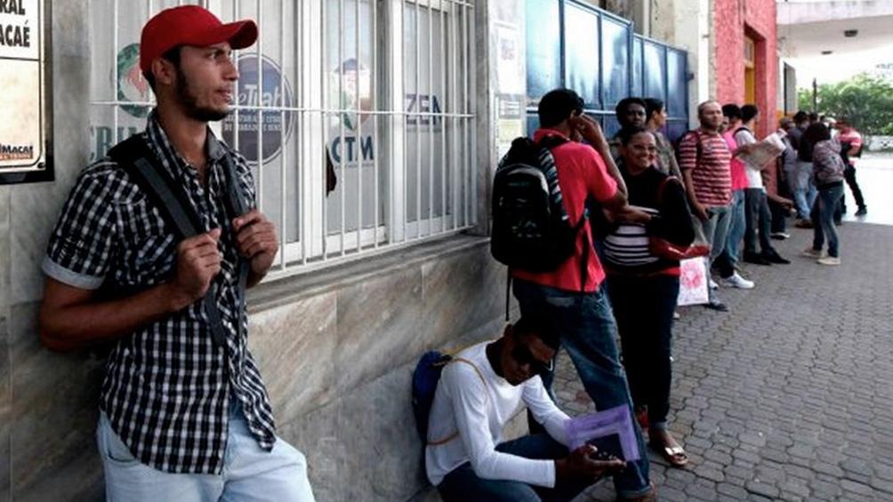 Cerca de 40 millones de personas se encuentran sin ocupación remunerada