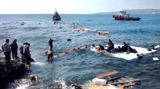 La llegada de refugiados a Europa por el Mediterráneo subió un 46% en 2016