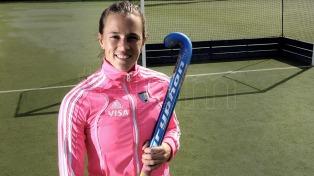 Carla Rebecchi fue elegida segunda mejor jugadora internacional del año