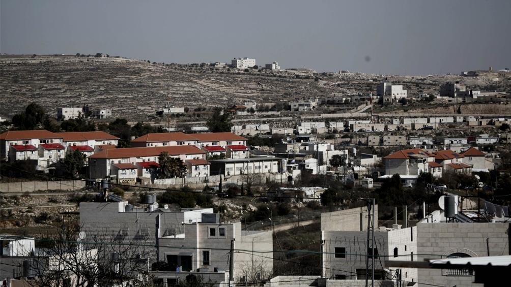 Vista del asentamiento israelí Givat Harsina, en Hebrón, Cisjordania.
