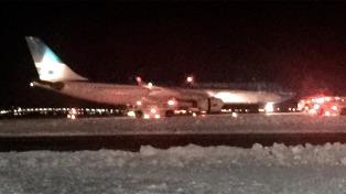 Se incendió el motor de un avión de Aerolíneas Argentinas
