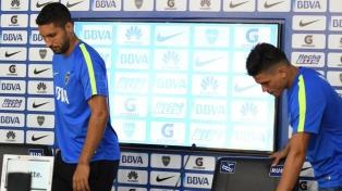 Insaurralde y Silva se entrenan con normalidad