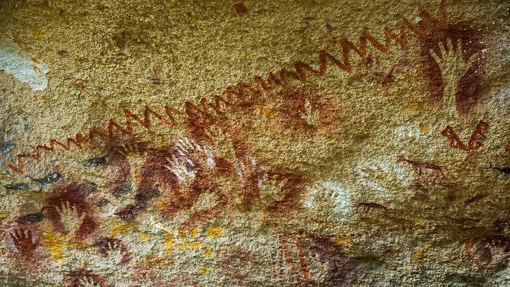 Las pinturas halladas datar de hace unos 9.300 años.