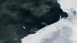 Detectan el desprendimiento de un témpano de más de mil kilómetros cuadrados en la Antártida