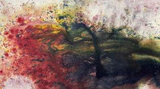 Las pinturas argentinas del estadounidense Stevens Vaughn, desde mañana en la UCA