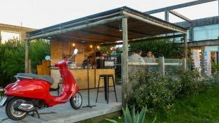 En José Ignacio, la oferta gastronómica marcha sobre ruedas