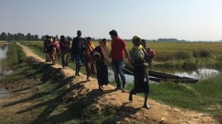 Fuerzas de seguridad obligaron a 141 musulmanes rohingyas a regresar a Myanmar