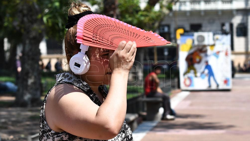 La ola de calor se mantendrá en las provincias de Buenos Aires, Córdoba, Santa Fe y Entre Ríos.