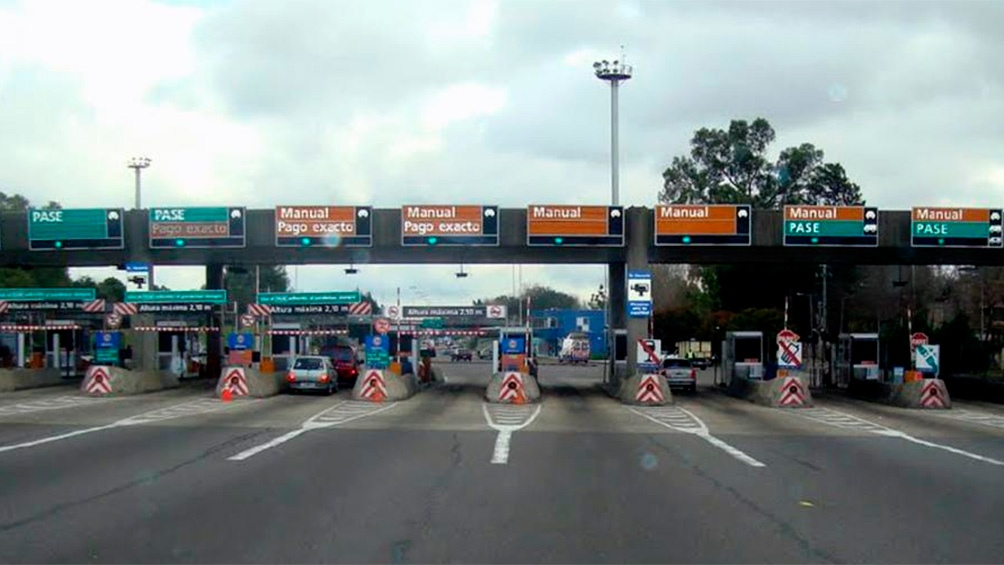 Los peajes porteños están sobre las autopistas 25 de Mayo e Illia.