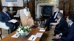 Macri recibió a un empresario árabe y a la canciller de Kenia