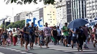 Comenzó la jornada de protesta por la aplicación de la Ley de Emergencia Social