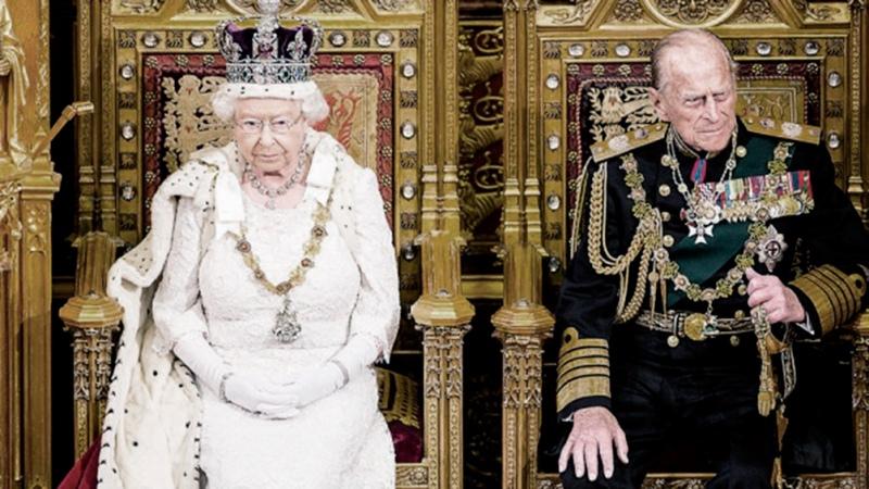 """La prensa británica despide al príncipe Felipe, """"apoyo indispensable"""" de la Reina"""