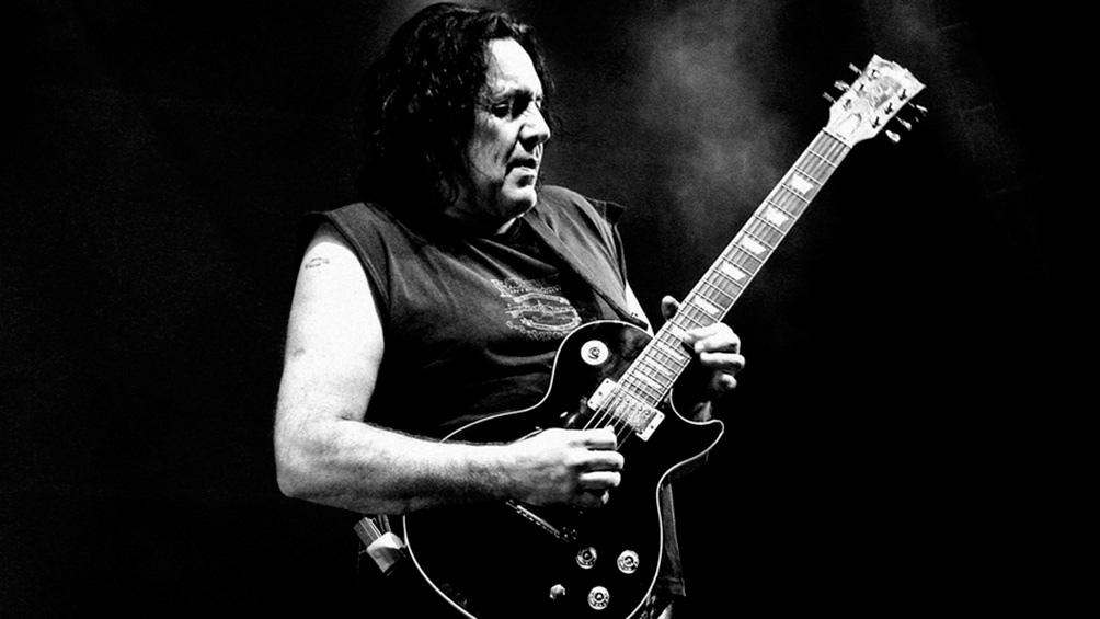 Pappo, uno de los máximos exponentes del rock nacional.