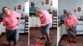 Una abuela cordobesa que baila cumbia es furor en la red