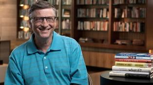 """""""El cambio climático es más difícil de resolver que una pandemia"""", aseguró Bill Gates"""