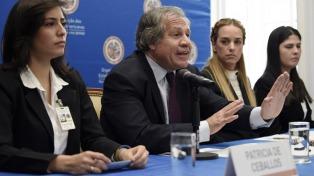 La OEA discute la situación venezolana en una tensa sesión en Washington