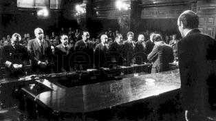 Funcionarios, políticos y organizaciones de DDHH recordaron el aniversario del juicio a las Juntas