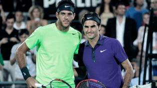 Federer sobre Del Potro: �Deseo que regrese y que esté bien de salud para siempre�