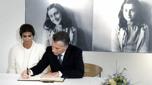 Macri visitó la casa de Ana Frank junto con la Reina Máxima