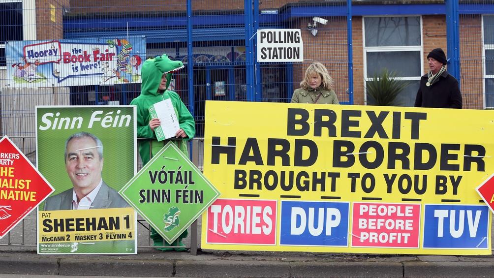 Las tensiones se dan en medio del divorcio entre el Reino Unido y la Unión Europea (UE)