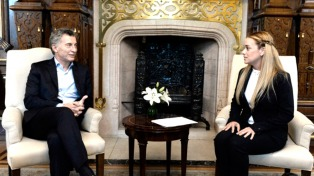"""Macri celebró la excarcelación de Leopoldo López y pidió la liberación """"de los demás presos políticos"""""""