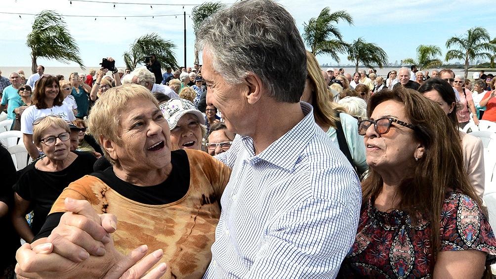 """Cafiero: """"La fórmula de Macri solo hacía que los jubilados persigan la evolución de los precios, con varios meses de desfasaje""""."""