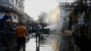 La Fiscalía acusó a un policía por la muerte del militante opositor Quintana en 2017