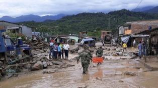 Elevan a 314 la cifra de muertos por la avalancha en Mocoa