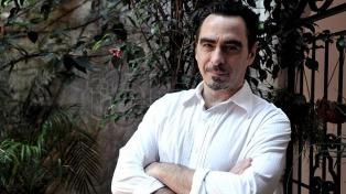 """Federico Andahazi presentó su nuevo libro: """"El Equilibrista"""""""