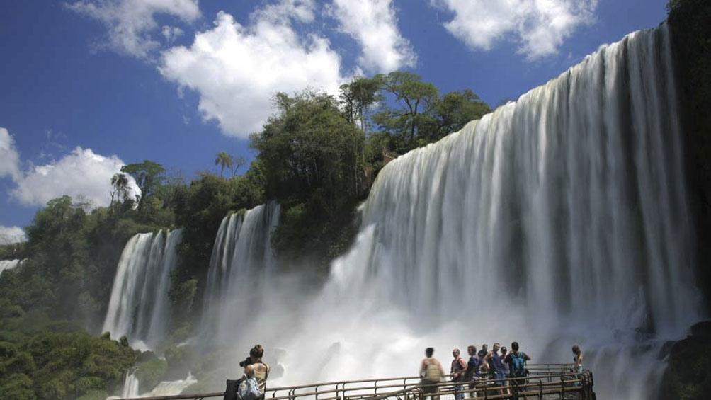El Parque Nacional Iguazú reabrió este fin de semana sus puertas a los visitantes locales