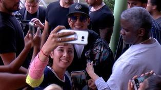 Daddy Yankee dio una charla motivacional en una escuela de Lugano