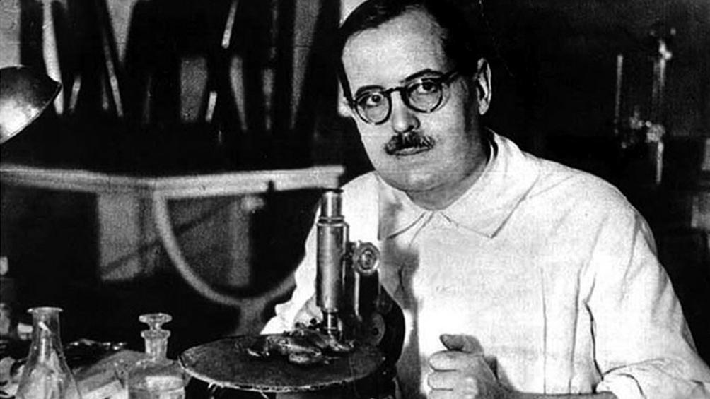 Bernardo Houssay, Premio Nobel de Medicina en 1947.