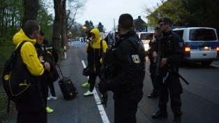 Investigan si los explosivos usados en Dortmund eran de origen militar