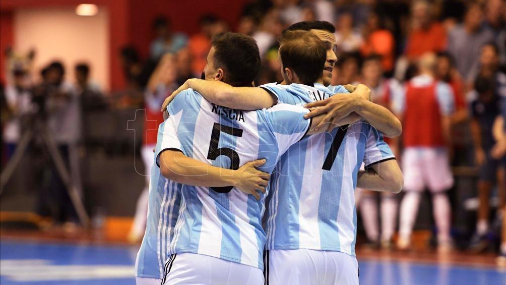 Argentina festeja. (Foto: Luciana Granovsky)