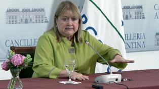 La canciller Malcorra anunció avances en la negociación para un acuerdo Mercosur-Unión Europea