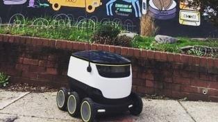 Una empresa de encomiendas usará robots autónomos para recoger paquetes en Londres