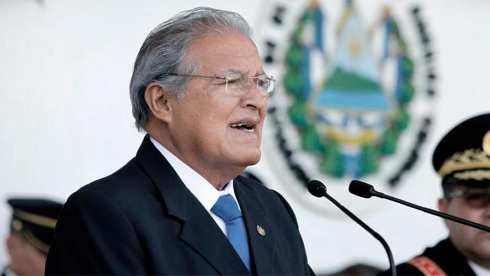 Ordenaron la captura de Salvador Sánchez Cerén.