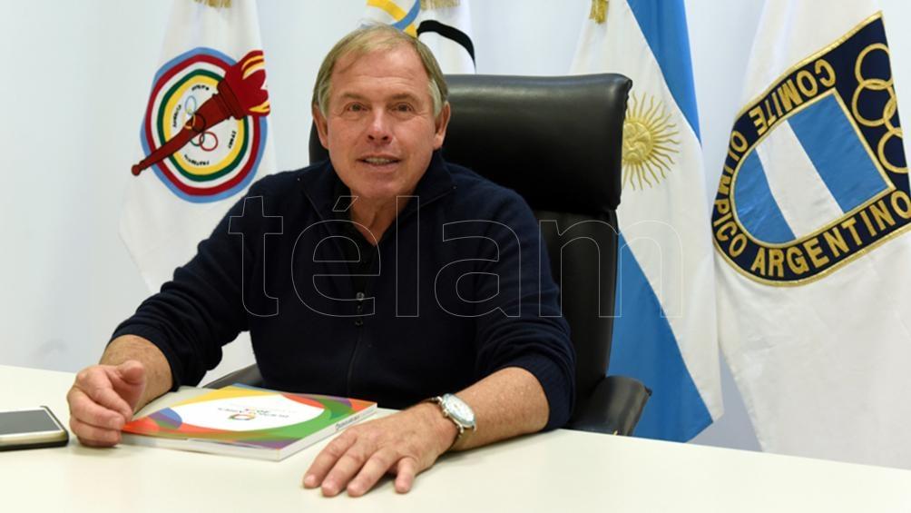 Werthein lleva 12 años en el Comité Olímpico Argentino.