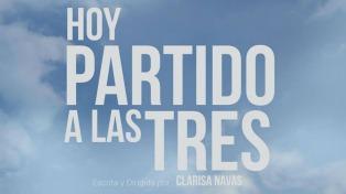"""Clarisa Navas propone una praxis alegre del feminismo a través del fútbol en """"Hoy partido a las 3"""""""
