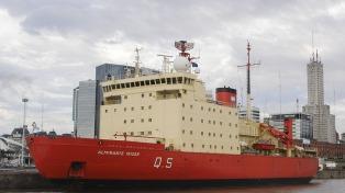 """El """"Almirante Irízar"""" se transformó en uno de los 10 de los rompehielos más grandes del mundo"""