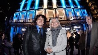 Inauguraron la nueva fachada del teatro Coliseo, emblema histórico porteño