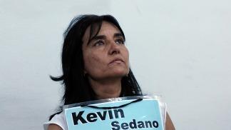Kevin, el hijo de Vivian Perrone, murió a sus 14 años en un siniestro vial en el 2002.