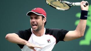 Zeballos perdió en el debut en el ATP de Quito