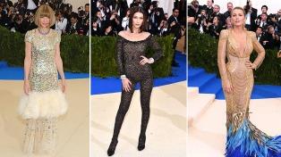 Lo mejor de la moda desfiló por las escalinatas del Museo de Nueva York