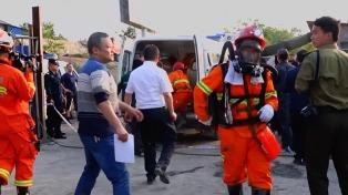 Doce trabajadores murieron atrapados por un derrumbe en un túnel ferroviario