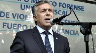 """Cornejo reconoció """"errores políticos"""" del Gobierno y apuntó contra Aranguren"""