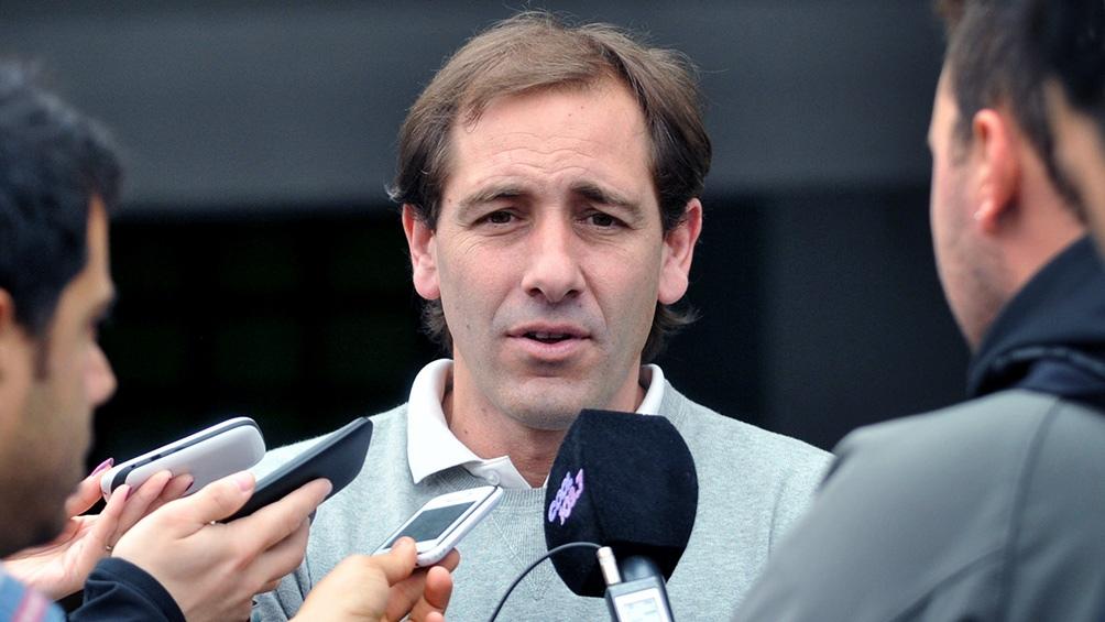 Julio Garro, intendente de La Plata.