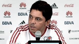 Gallardo confirmó que cuidará jugadores para jugar en Bolivia